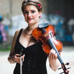 Meg-Rosaleen Hamilton, Violin